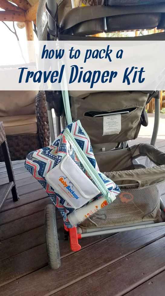 How to Make a Travel Diaper Kit - Mommy Scene