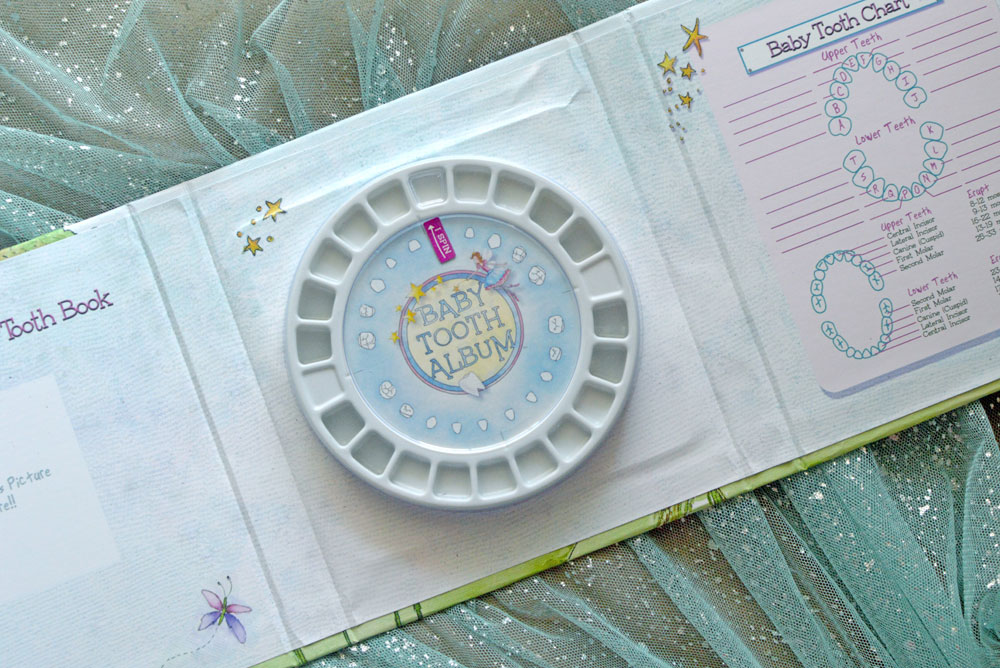 Baby Tooth Fairy Album kit - Mommy Scene review