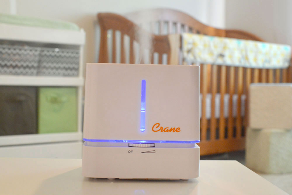 Clean humidifiers for storage in the Spring - Crane Cool Mist cube humidifier - Mommy Scene