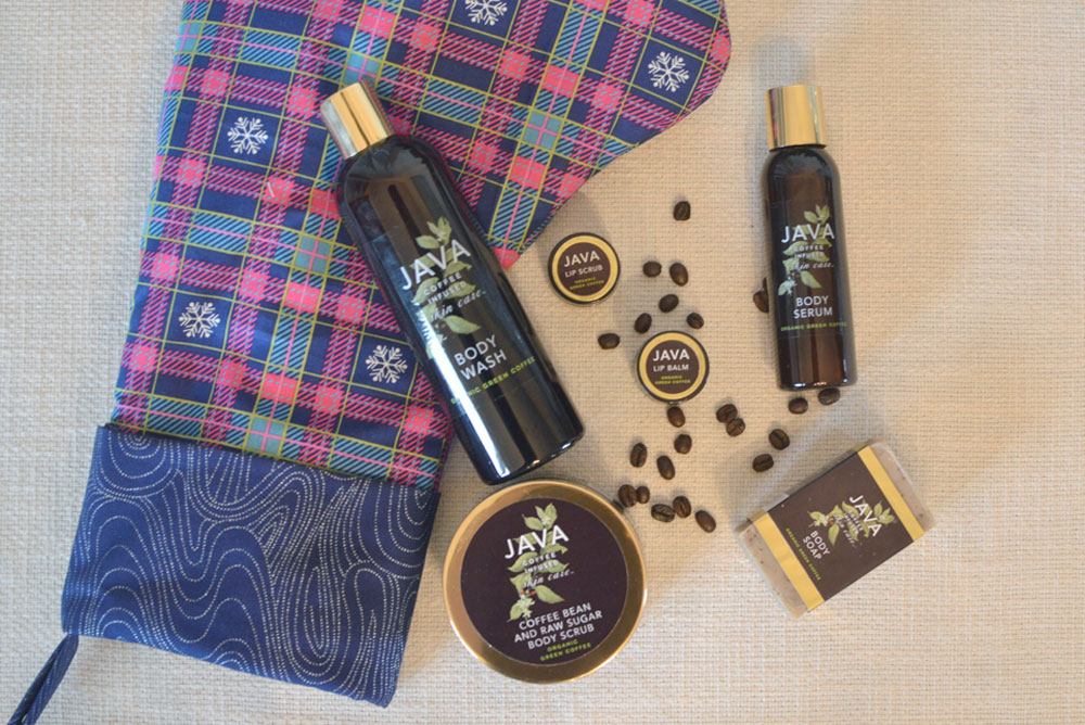 Java coffee based skin care products review - Mommy Scene