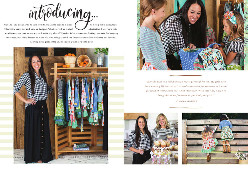 Joanna Gaines' Sweet Collab with Matilda Jane Clothing now available - Mommy Scene