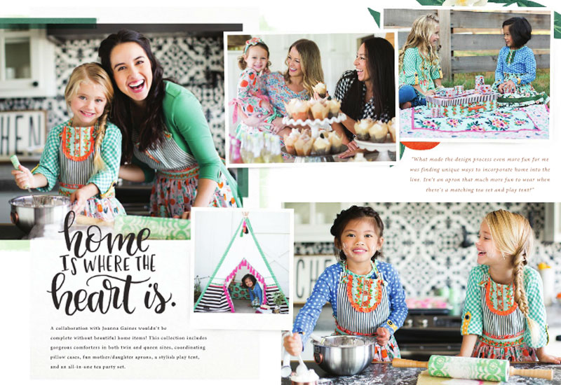 Joanna Gaines' Sweet Collab with Matilda Jane Clothing lookbook - Mommy Scene