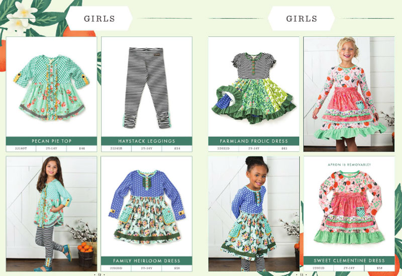 Joanna Gaines' Sweet Collab with Matilda Jane Clothing lookbook for girls - Mommy Scene