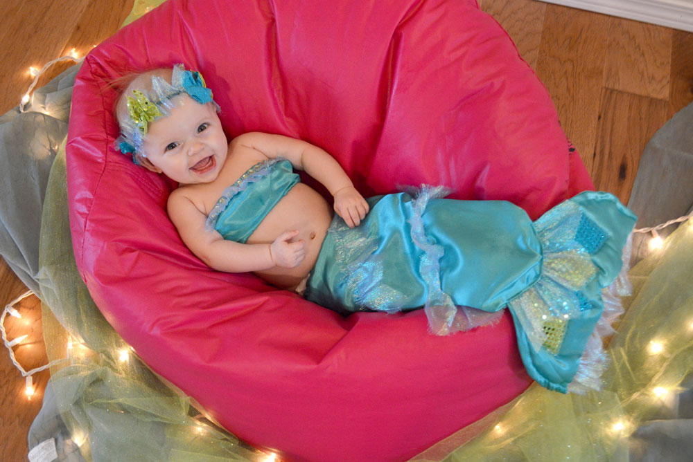 Mermaid baby costume - Mommy Scene