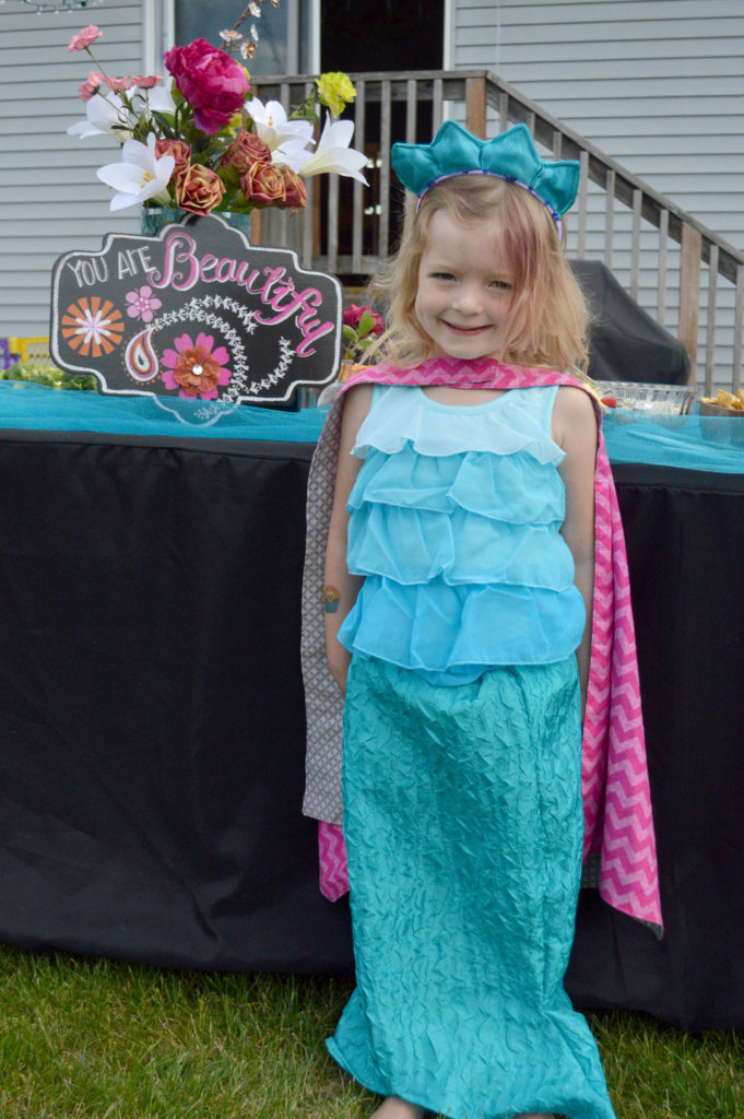 Cute Mermaid Superhero kids' birthday party for girls - Mommy Scene