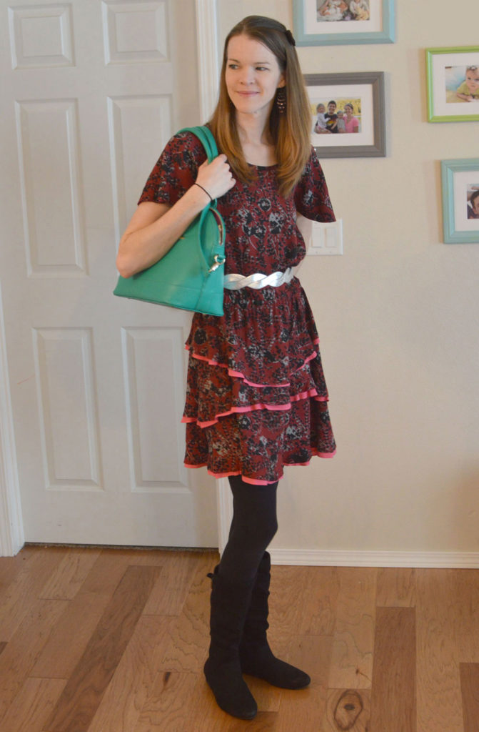 Mommy Fashion Basics and Matilda Jane dress - Mommy Scene