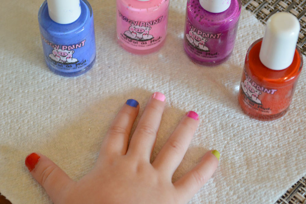 Piggy Paint Natural beauty products and nail polish - Mommy Scene
