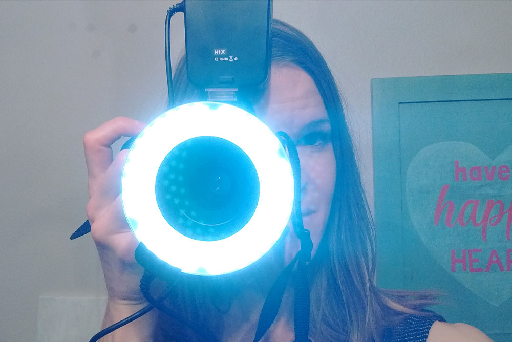 Oh! Wow. Camera Ring Light - Moms' Christmas Wish List - Mommy Scene