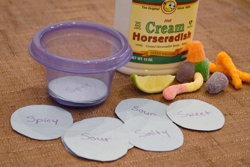 Preschool 5 Senses Food Taste Test - Mommy Scene