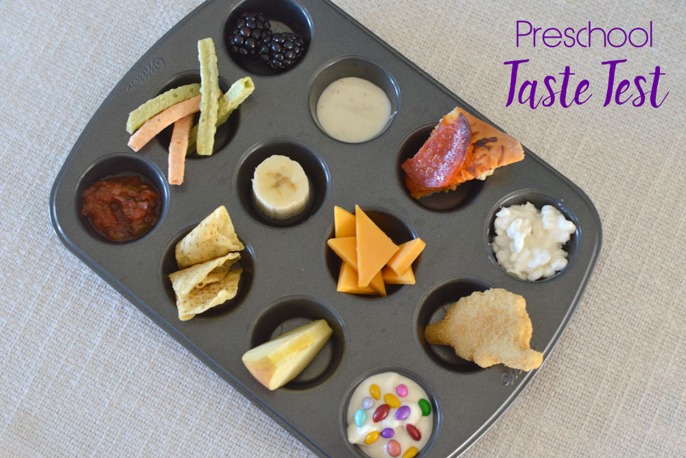 Preschool Taste Test Kids' activity - Mommy Scene