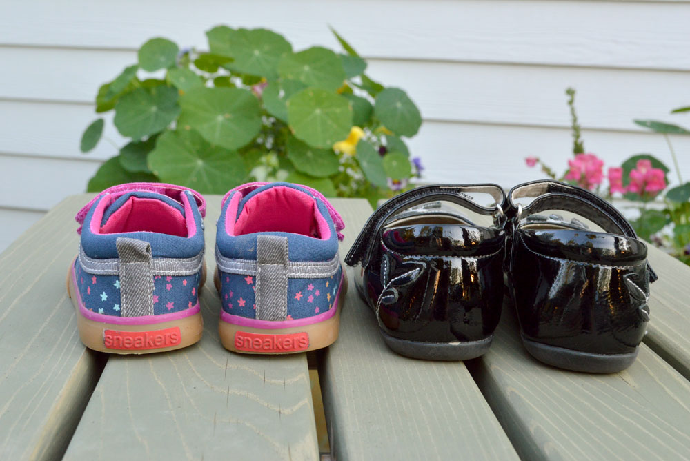 See Kai Run Shoes are pefect for casual playtime or dress up - Mommy Scene review