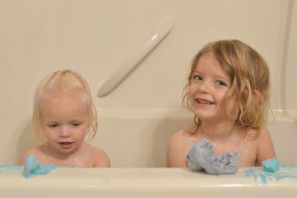 Sudsy Dough Moldable Soap kids bath activity - Mommy Scene