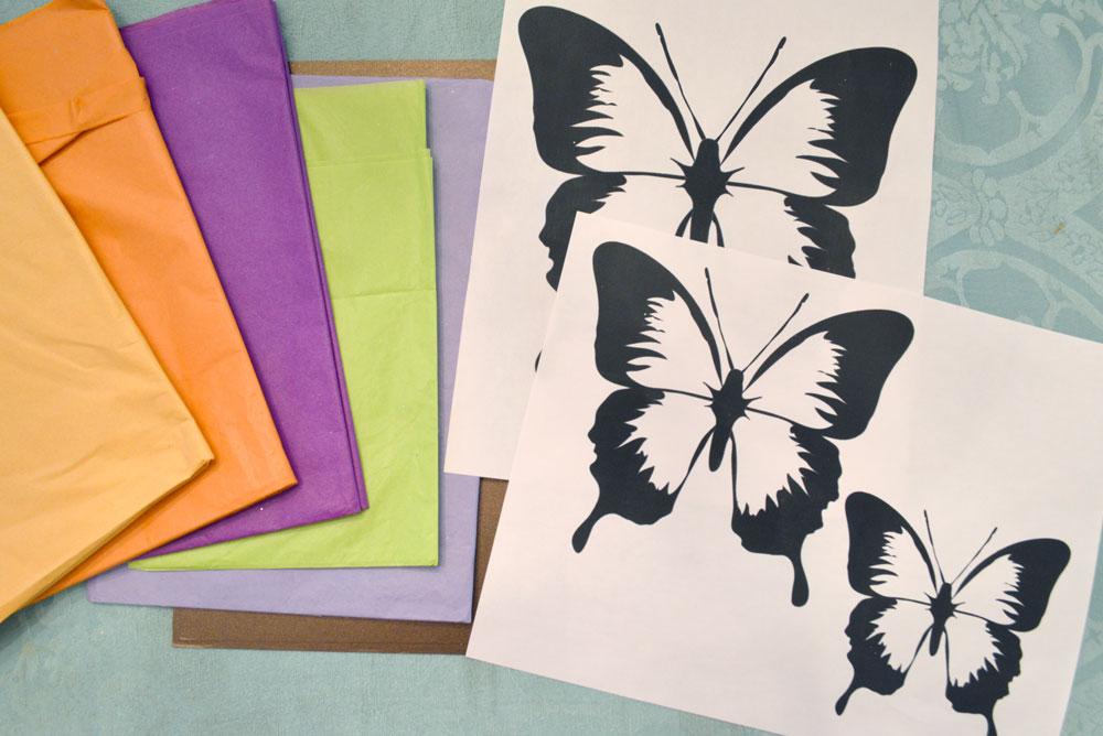 Kids craft butterfly suncatchers - Mommy Scene