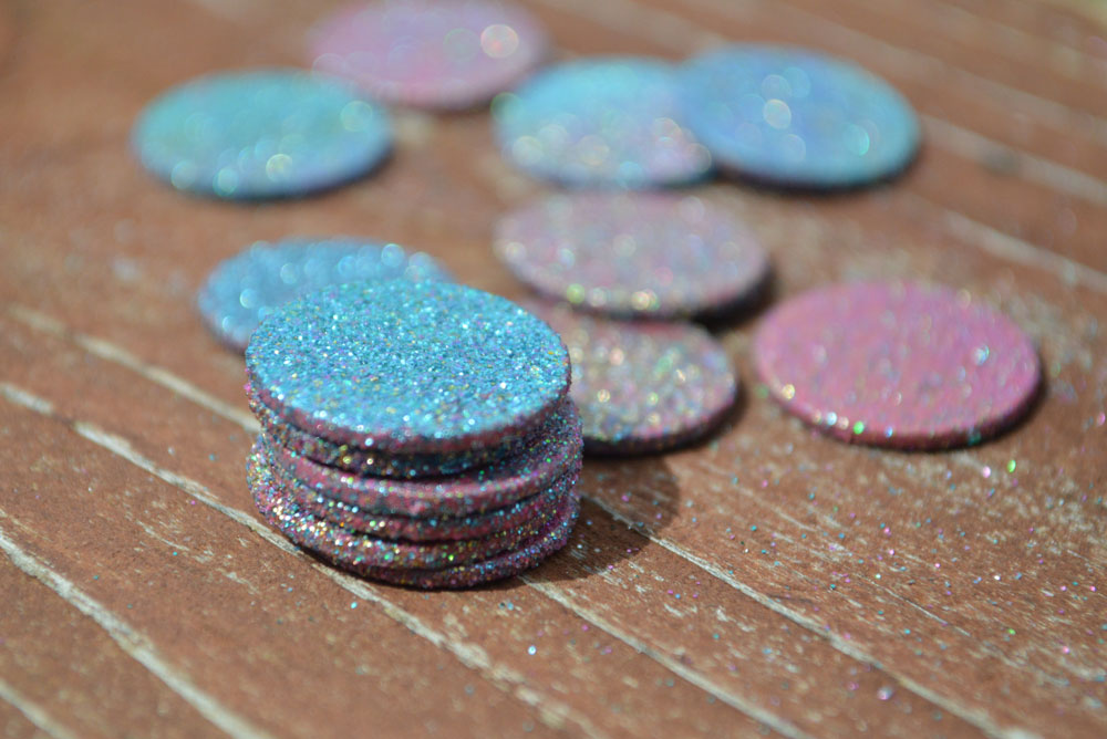 Glittery Tooth Fairy coins kids' craft - Mommy Scene