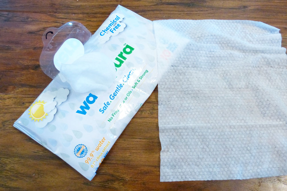 Waterpura baby wipes - Mommy Scene