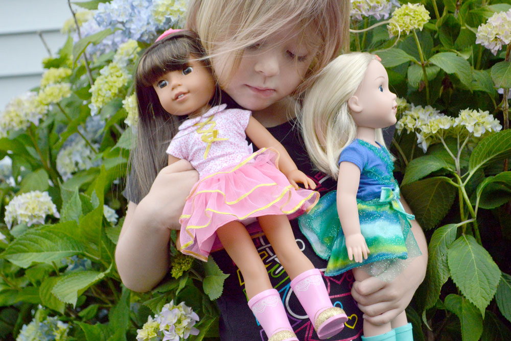 American Girl Wellie Wishers dolls are perfect for modern girls - Mommy Scene review