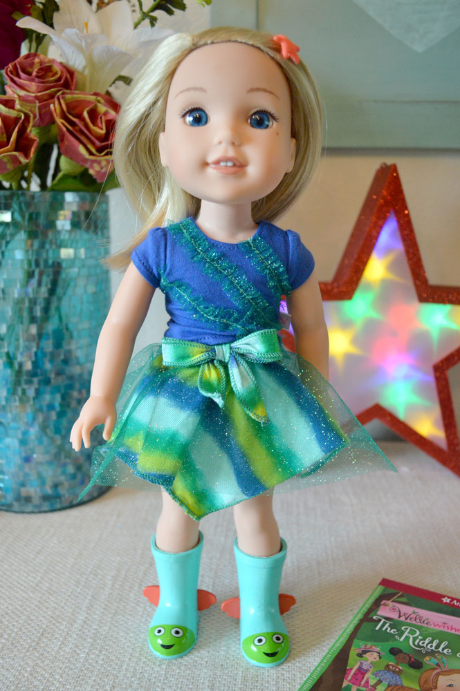 American Girl WellieWishers Doll Camille - Mommy Scene review