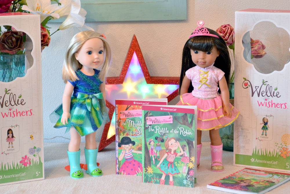 New American Girl Wellie Wishers doll friends - Mommy Scene review