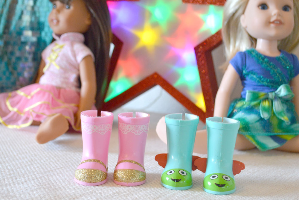 Cute WellieWishers dolls wellie boots - Mommy Scene review