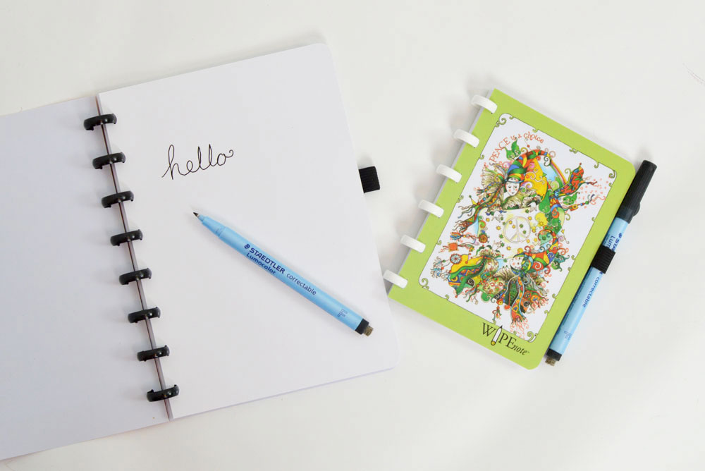 WipeNote Dry Erase Notebook for eco-friendly lists - Mommy Scene