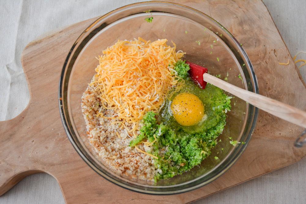 Homemade broccoli tots Nutri Ninja Nutri Bowl recipe - Mommy Scene