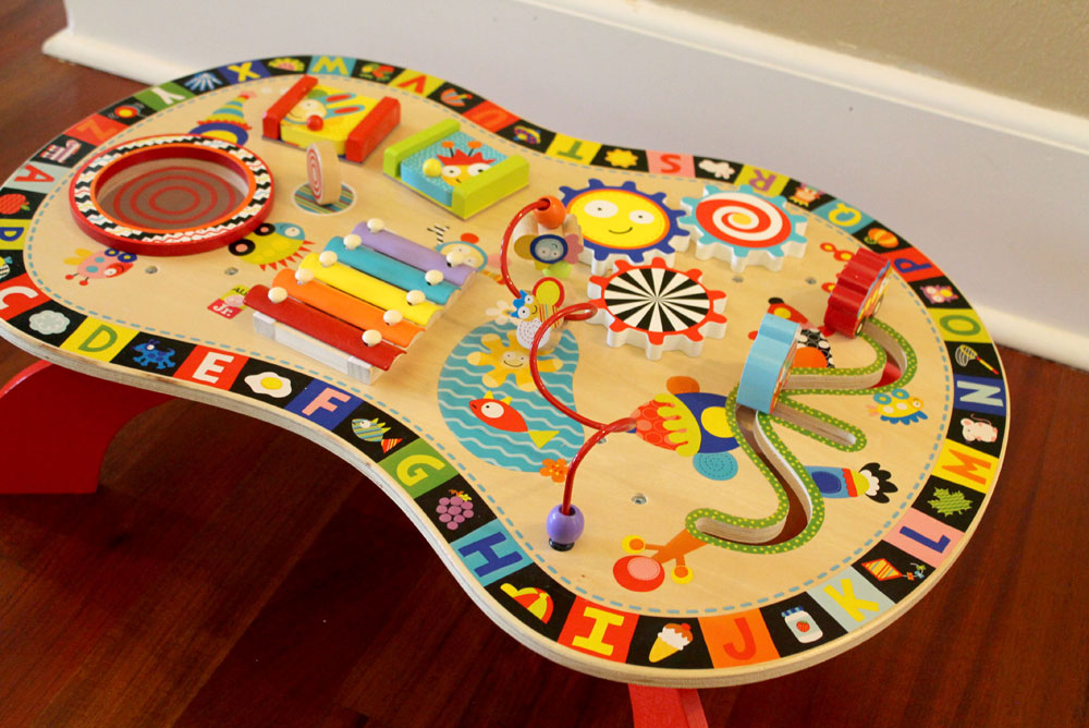 Alex Toys Sound and Play Busy Table for Kids - Mommy Scene