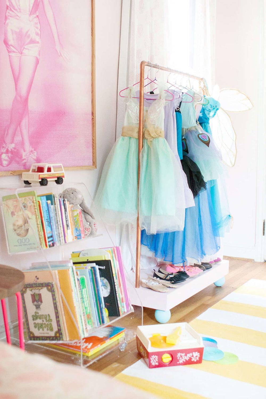 Genius DIY Dress Up Storage Closet