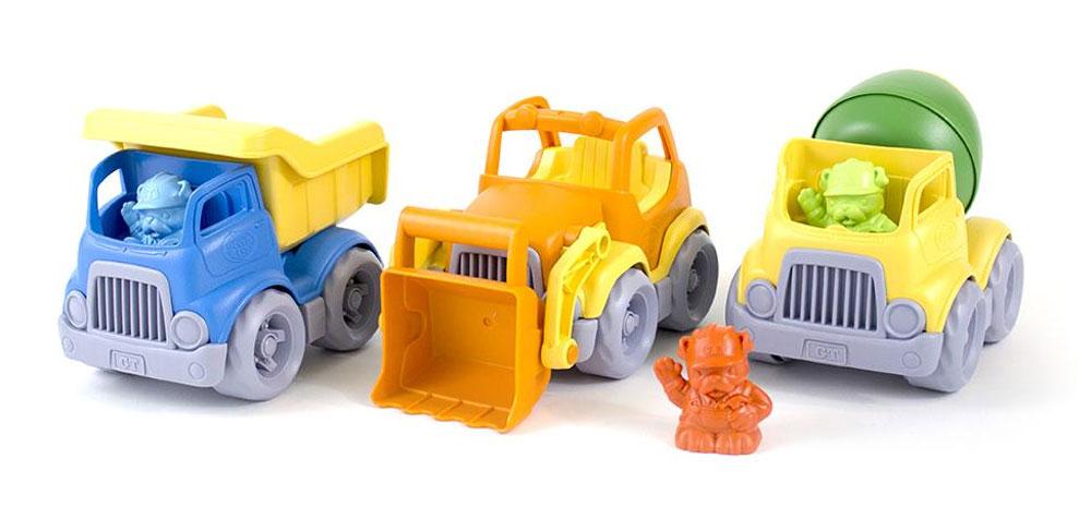 Green Toys Construction Trucks Set