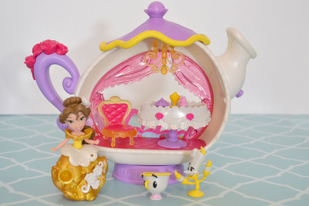 Disney Princess Little Kingdom Belle's Enchanted Dining Room Set - Mommy Scene