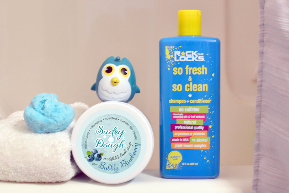 Rock the Locks hair products and Sudsy Dough moldable soap - Mommy Scene