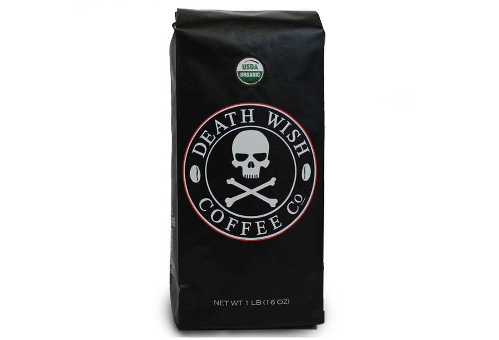 Death Wish Ground Coffee, Dark Roast - Father's Day Gift Idea - Mommy Scene