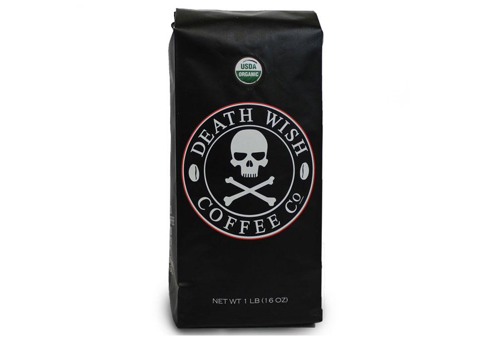 Death Wish Ground Coffee, Dark Roast - Father's Day Gift Idea - Mommy Scene