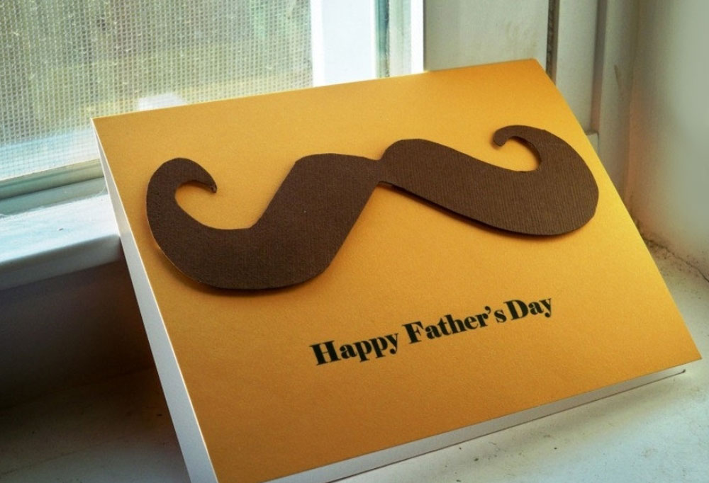 Make a homemade Father's Day card - Mommy Scene