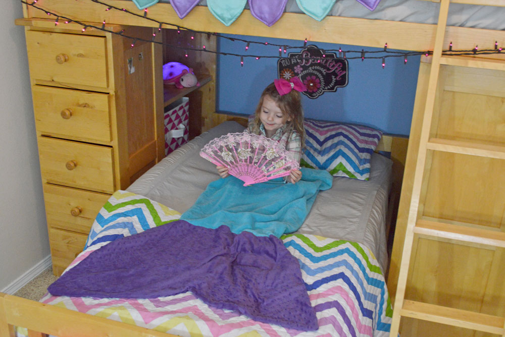 Mermaid themed kids' bedroom designed - Mommy Scene