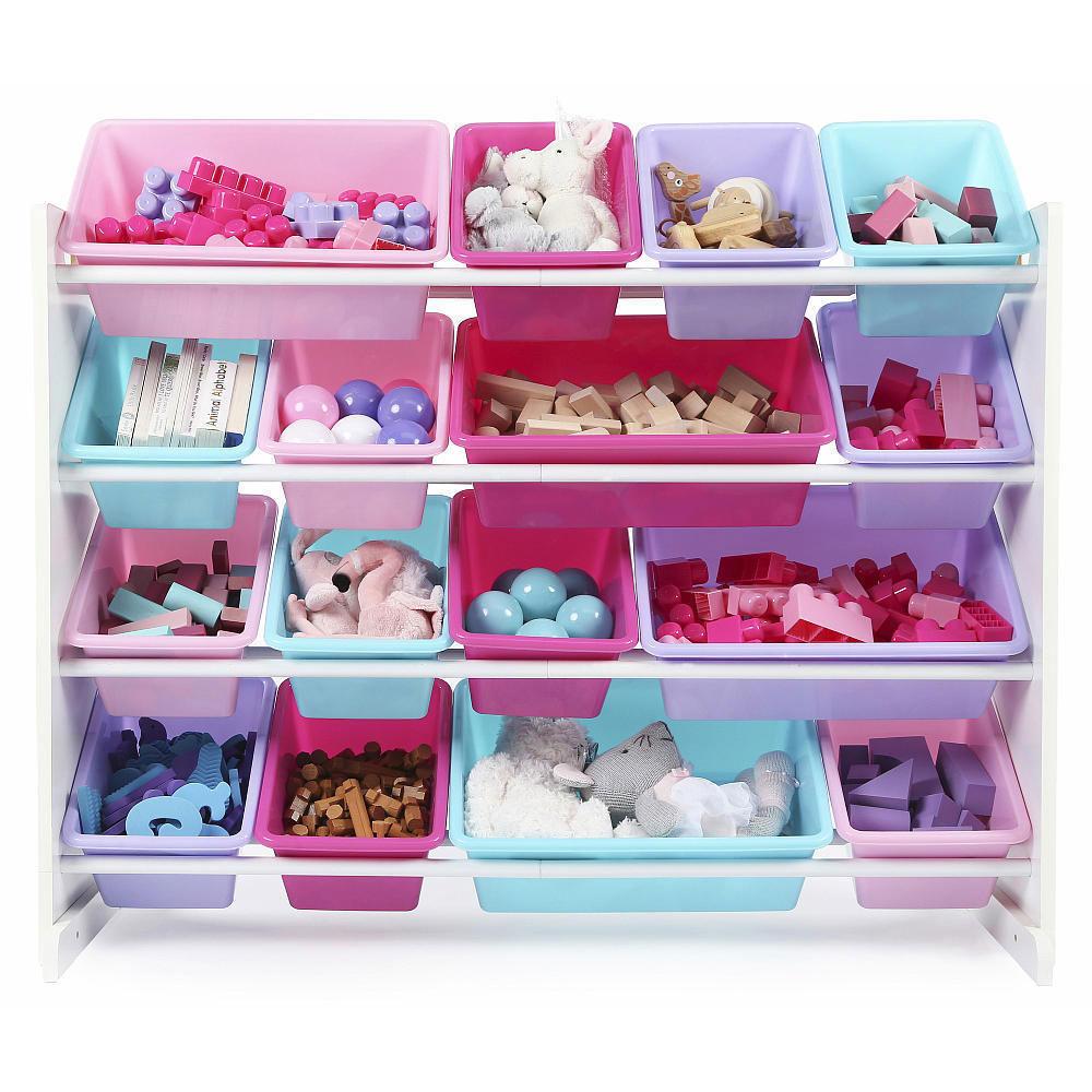 Organized toy bins - Mommy Scene