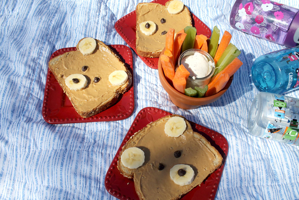 Teddy Bear sandwiches - Mommy Scene