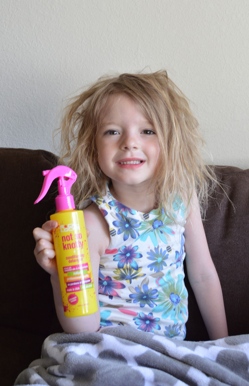 Rock the locks helps detangle kids hair - Mommy Scene