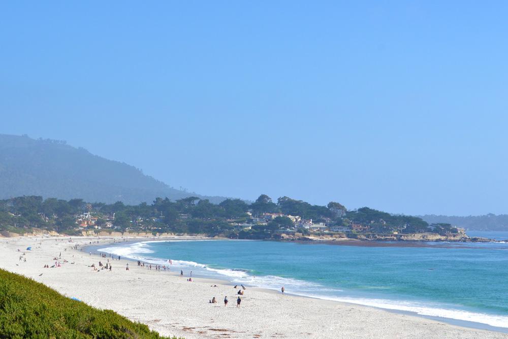 Carmel California White Beach - Mommy Scene