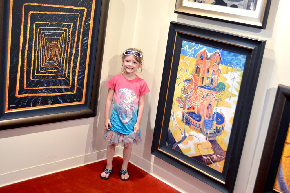 Carmel California Dr. Seuss art gallery visit - Mommy Scene
