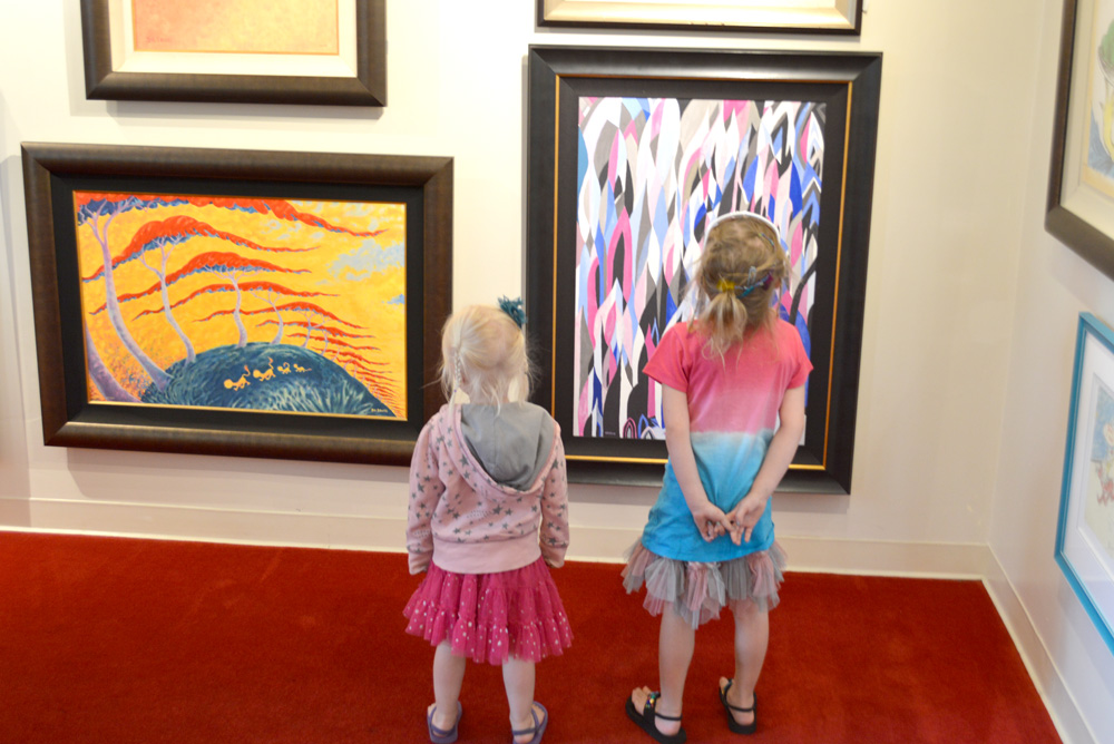 Carmel California Dr. Seuss art gallery - Mommy Scene