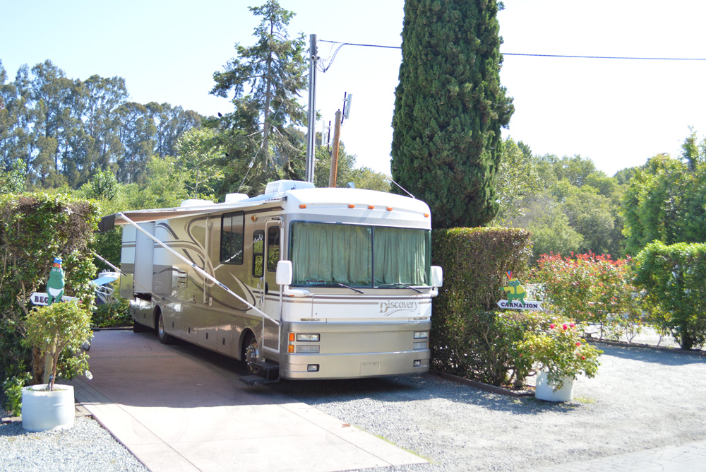 Carmel California RV resort - Mommy Scene