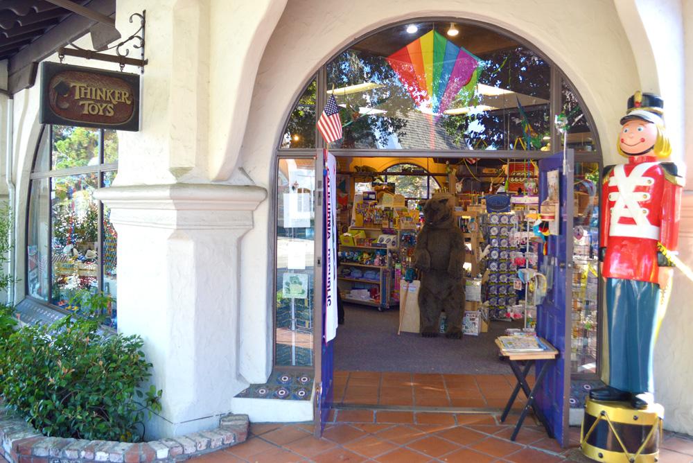Carmel California Toy Store - Mommy Scene