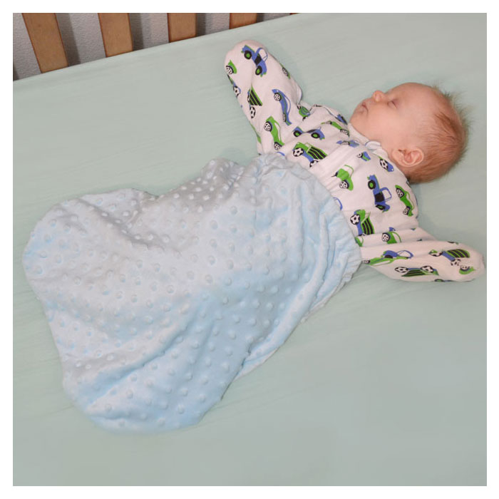 Spring Baby Shower Faves - Cozy Sleeper and Blanket Pouch