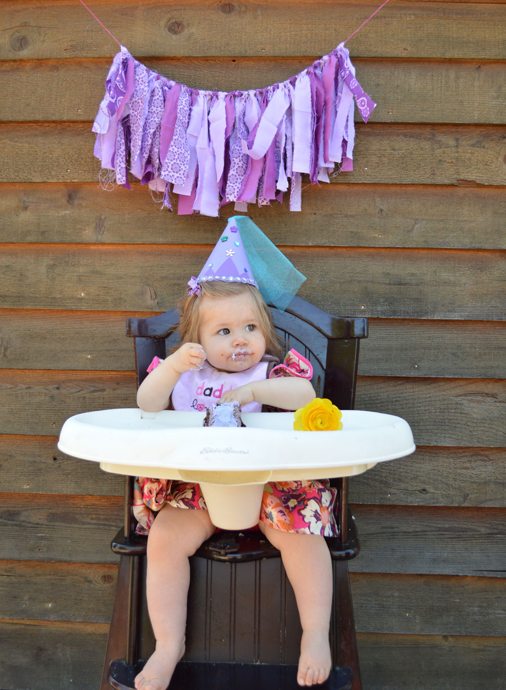 DIY cute kid's party hat birthday girl - Mommy Scene