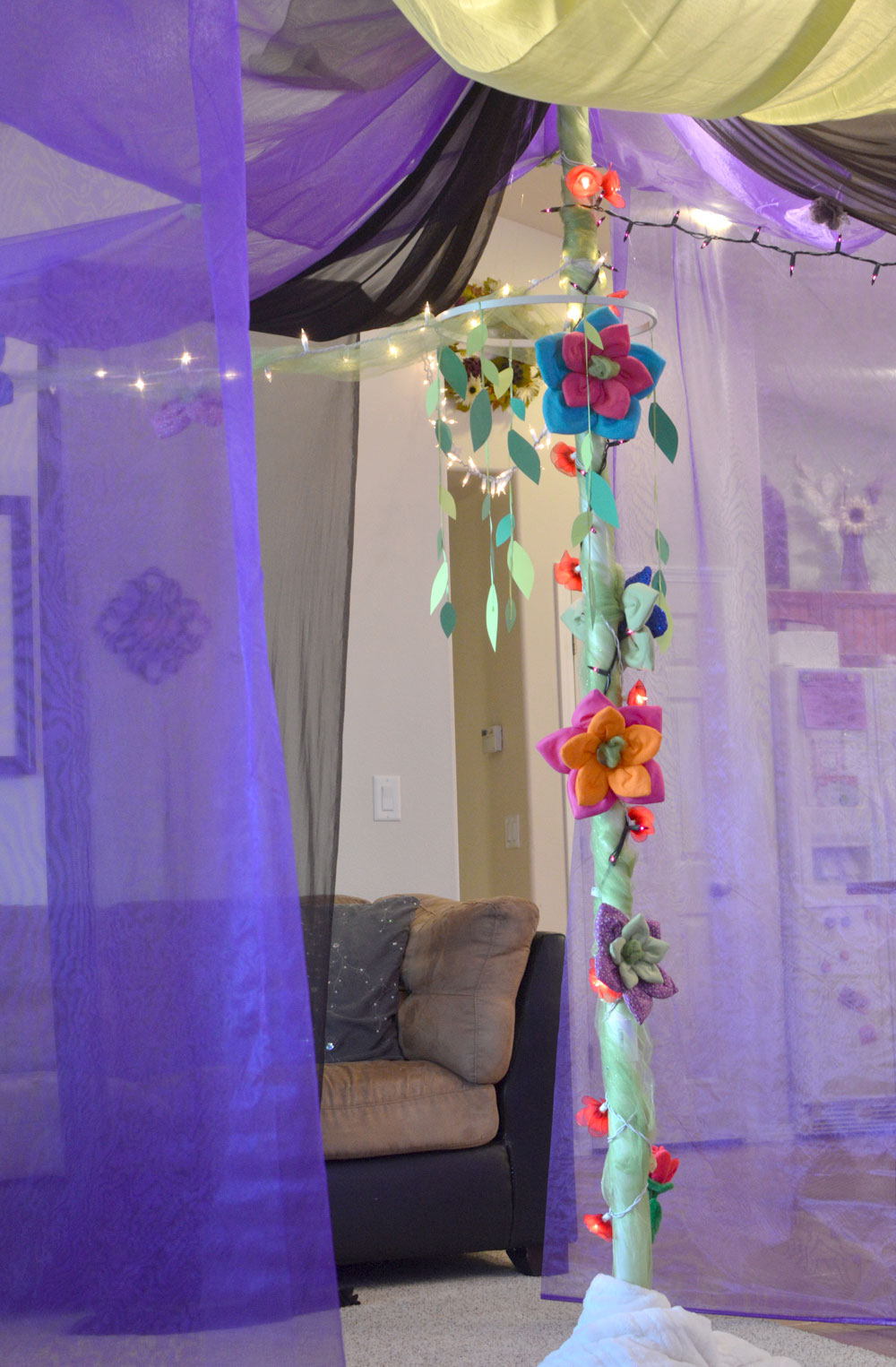 Cute Kids' Fairy Birthday Party Tent - Mommy Scene