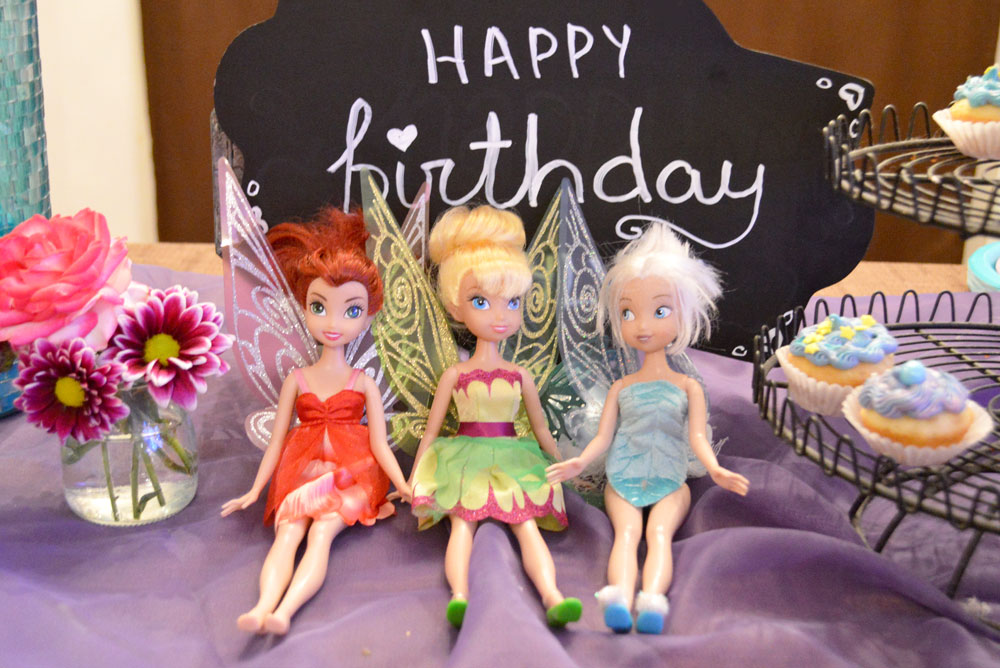 Cute Girl's Fairy Themed Birthday Party with fairy doll decorations - Mommy Scene