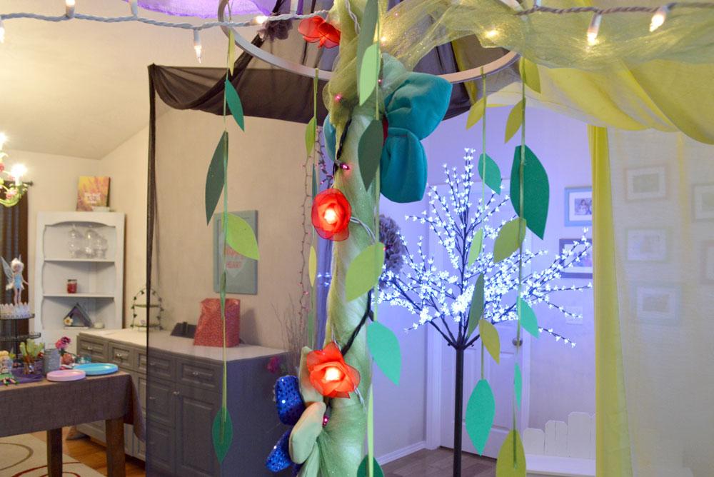 Kids' Fairy Birthday Party decorative fairy tent - Mommy Scene