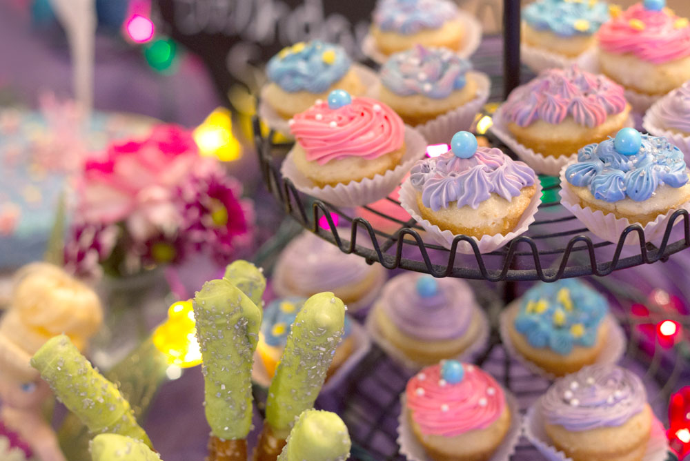 Kids' Fairy Birthday Party cute pastel cupcakes - Mommy Scene