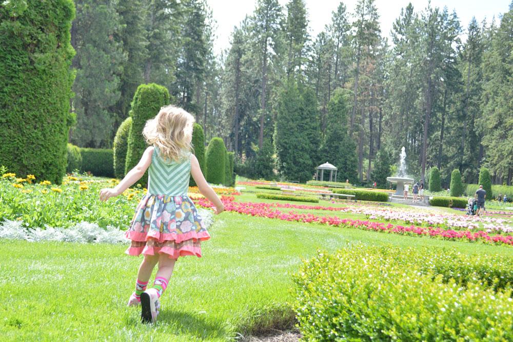 Spokane Manito Park and flower gardens family visit - Mommy Scene