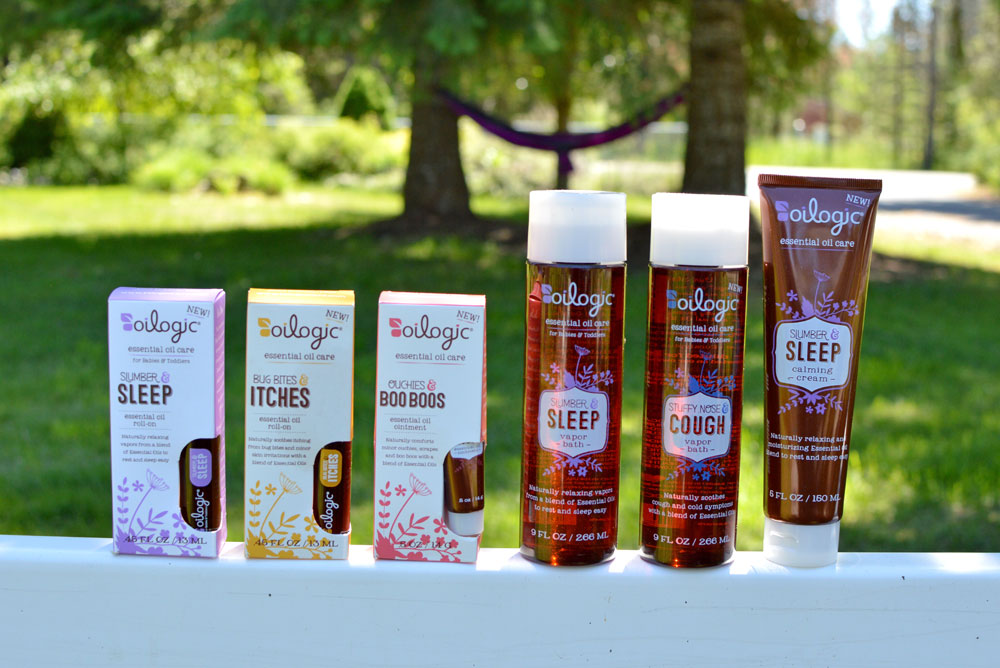 Oilogic Essential Oil products for kids - Mommy Scene